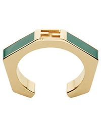 Fendi - Geometric Ring - Lyst