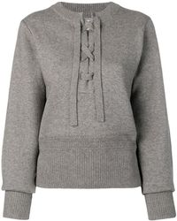a928899fa0 Lyst - Isabel Marant Cropped Chunky-knit Sweater in Pink