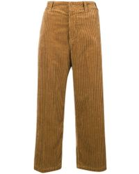 Department 5 - Flared Corduroy Trousers - Lyst