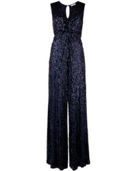 P.A.R.O.S.H. - Knotted Sequin Jumpsuit - Lyst