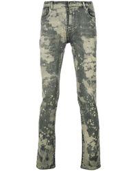 Faith Connexion - Splattered Skinny Jeans - Lyst