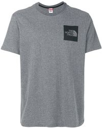 The North Face - Logo Patch T-shirt - Lyst