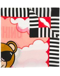Moschino - Lifeguard Teddy Scarf - Lyst
