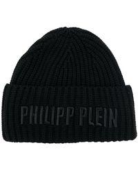 Philipp Plein - Logo Beanie Hat - Lyst