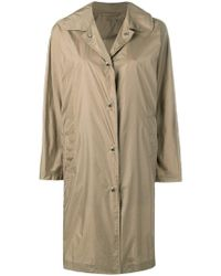 Mackintosh - Beige Nylon Single Breasted Coat Lm-079st/p - Lyst