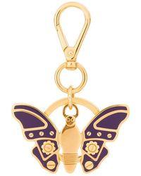Prada - Butterfly Keyring - Lyst