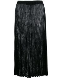 Mrz - Long Pleated Skirt - Lyst