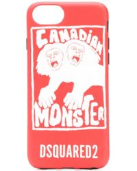 DSquared² - Canadian Monster Iphone 8 Case - Lyst