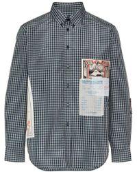 Martine Rose - Gig Patch Shirt - Lyst