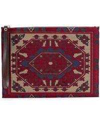 Etro - Carpet-style Pouch Bag - Lyst