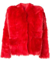 Sofie D'Hoore - Lima Fur Coat - Lyst