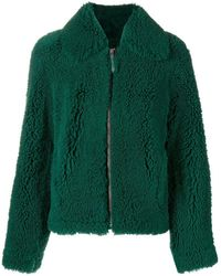 Cedric Charlier - Shearling Coat - Lyst