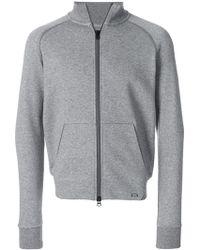 Woolrich - Zipped Sweater - Lyst