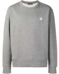 Acne Studios - Fairview Face Sweatshirt - Lyst