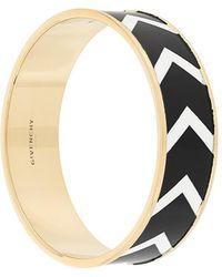 Givenchy - Chevron Pattern Bracelet - Lyst