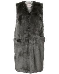 Urbancode - Faux Fur Gilet - Lyst