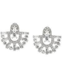 V Jewellery - Runa Fan Earrings - Lyst