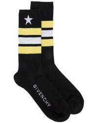 Givenchy - Striped Tube Socks - Lyst
