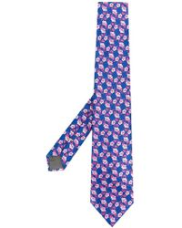 Canali - Floral Print Tie - Lyst