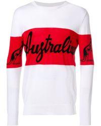 Gcds - Australia Intarsia-knit Jumper - Lyst