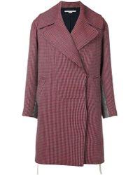 Stella McCartney - Striped Coat - Lyst