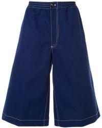 Marni - Pantalones vaqueros cortos anchos - Lyst