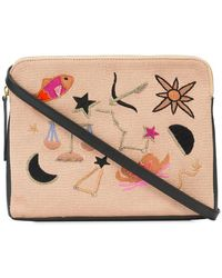 Lizzie Fortunato - Patch Clutch Bag - Lyst