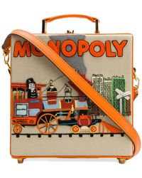 Olympia Le-Tan - Monopoly Train Clutch Bag - Lyst