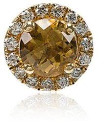 Rosa De La Cruz - White Diamond Single Stud Earring - Lyst
