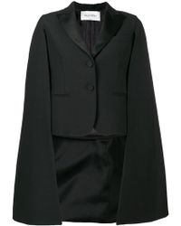 Valentino - Dinner Jacket Cape - Lyst