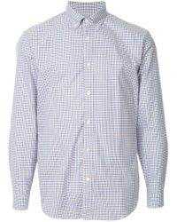 Gieves & Hawkes - Check Fitted Shirt - Lyst