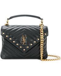Saint Laurent | Loulou Studded Bag | Lyst