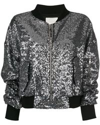 Amen - Sequined Bomber Jacket - Lyst