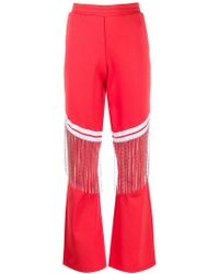 Each x Other - Fringed Flared Trousers - Lyst