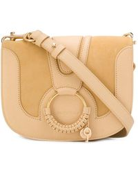 9bd72dc5540e See By Chloé Hana Medium Crossbody in Blue - Lyst