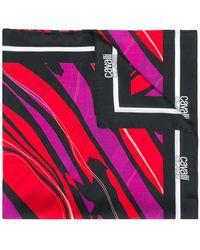 Class Roberto Cavalli - Striped Scarf - Lyst