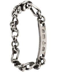 Werkstatt:münchen - Engraved Tag Bracelet - Lyst