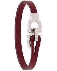 Ferragamo - Double Gancino Bracelet - Lyst