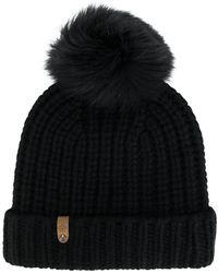 Mackage - Fox Fur Pom Pom Beanie - Lyst