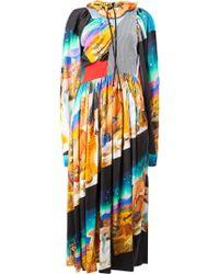 AALTO - Printed Dress - Lyst