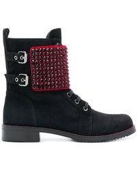 Loriblu - Studded Boots - Lyst
