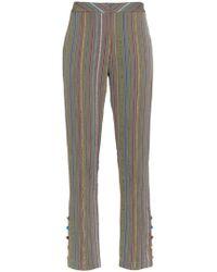 Rosie Assoulin - Rainbow Stripe Trousers - Lyst