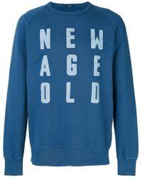Denham - Printed Sweatshirt - Lyst