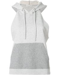 Each x Other - Text Print Sleeveless Hoodie - Lyst