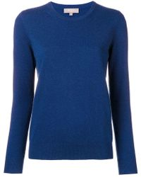 N.Peal Cashmere - Superfine Round Neck Sweater - Lyst