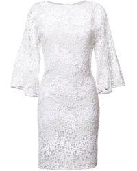 Rubin Singer - Butterfly Lace Dress - Lyst