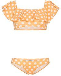 Lisa Marie Fernandez - Bikini con motivo a pois 'Mira' - Lyst