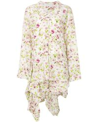 Faith Connexion - Floral Shirt Dress - Lyst