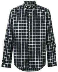 Michael Kors - Button-down Checked Shirt - Lyst