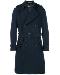 Department 5 - Belted Trench Coat - Lyst